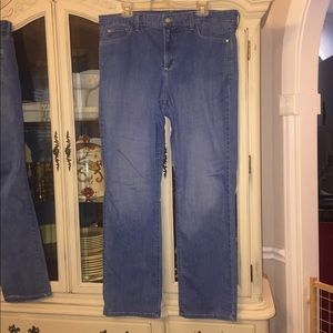 NYDJ Marilyn High Waist Straight Leg Jeans 18W EUC